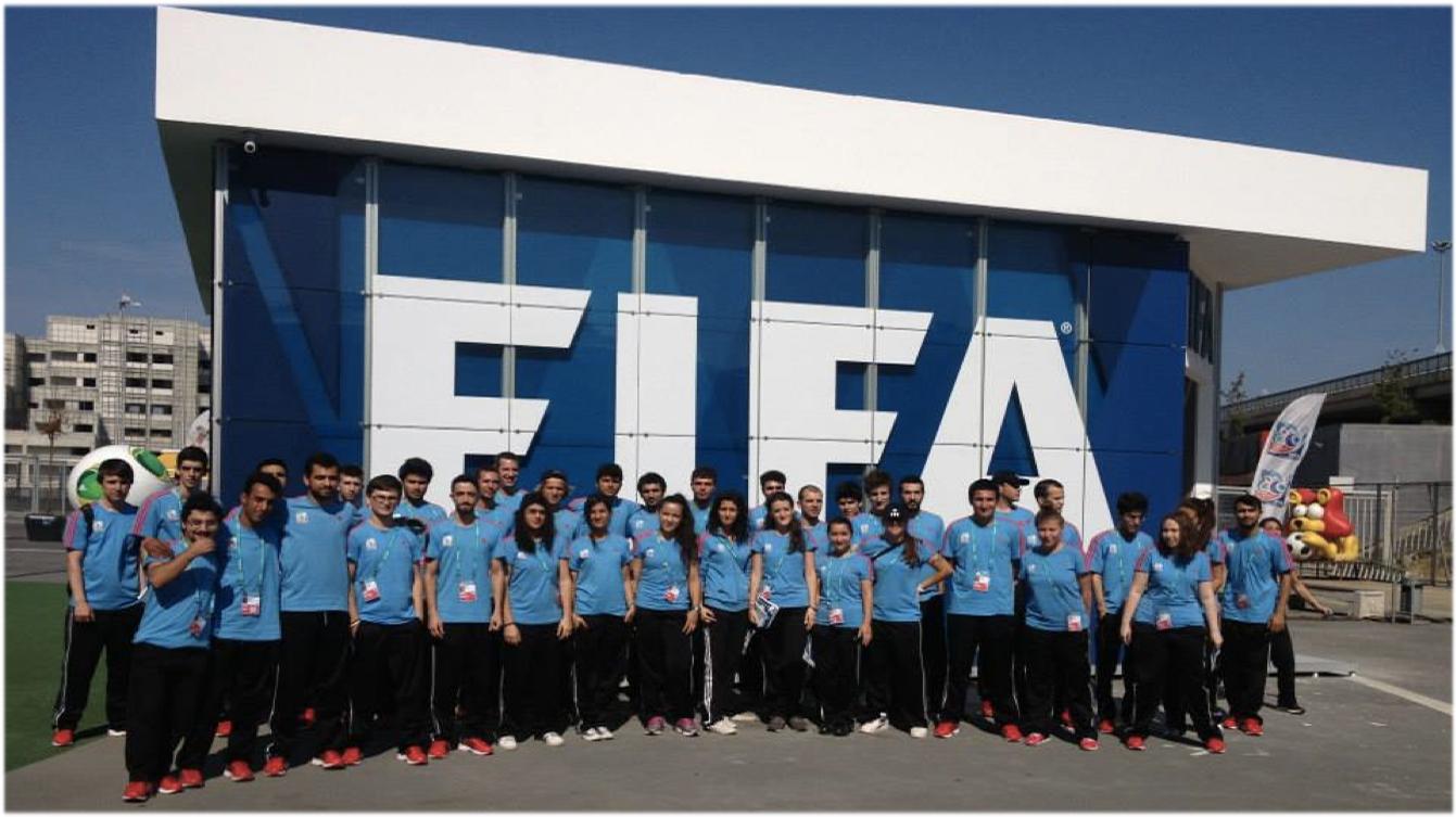 Ülkemizde yapılan Fifa U202013 Dünya Şampiyonası turnuvasındaki ekibimiz