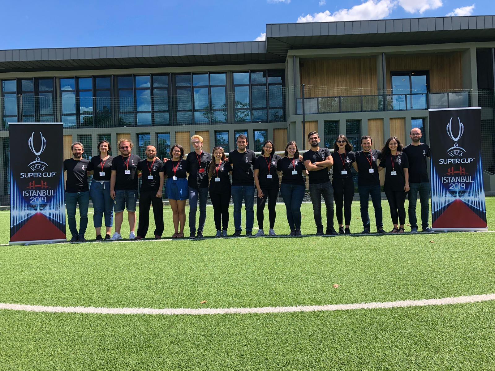 UEFA Süper Kupa Mülakatları TFF Beylerbeyi tesislerinde yapıldı.