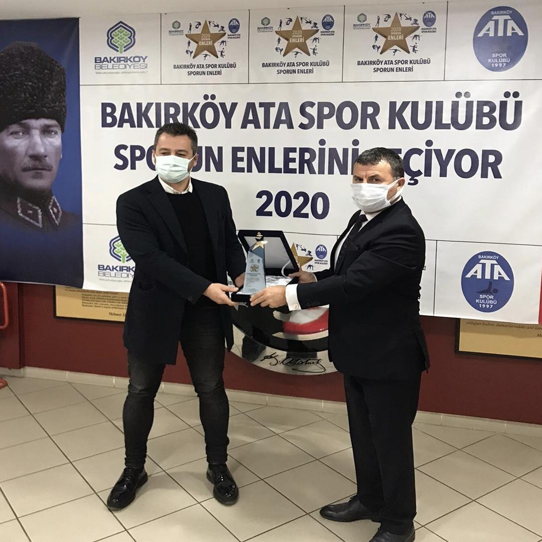 spor gönüllüleri jüri özel ödülünü aldı