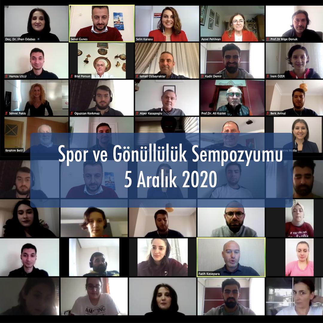 Spor ve Gönüllülük Sempozyumu